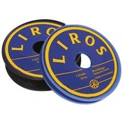 Liros Polyester Svart Vispgar-garn 1,5mm x 20mt