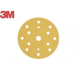 Slipskivor i guld 3m D150 P180