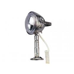 Klassiskt rostfritt stål Söklampa 12v 350mt