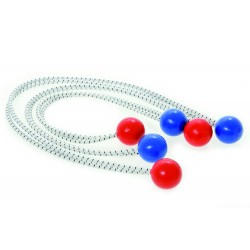 Segelband 50 cm Elastisk tråd med bollar